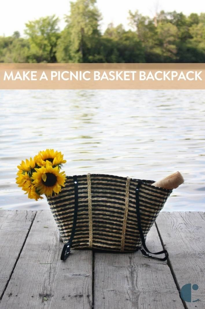 Picnic Basket Backpack DIY