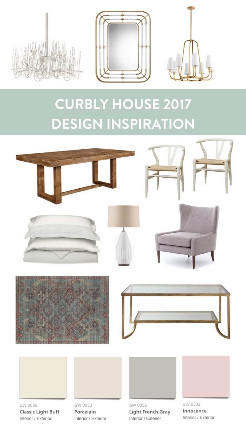 Design Inspiration for the Curbly House 2017
