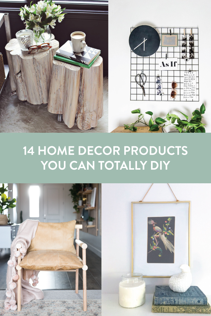 14 Home Decor Products you can Totally DIY