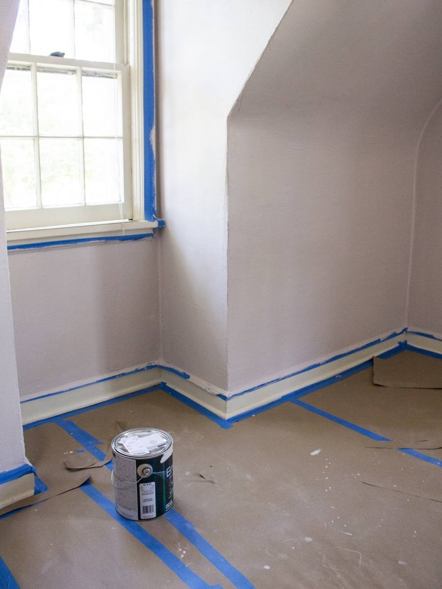Framing, Painting, and Holes in the Walls - Curbly House Update