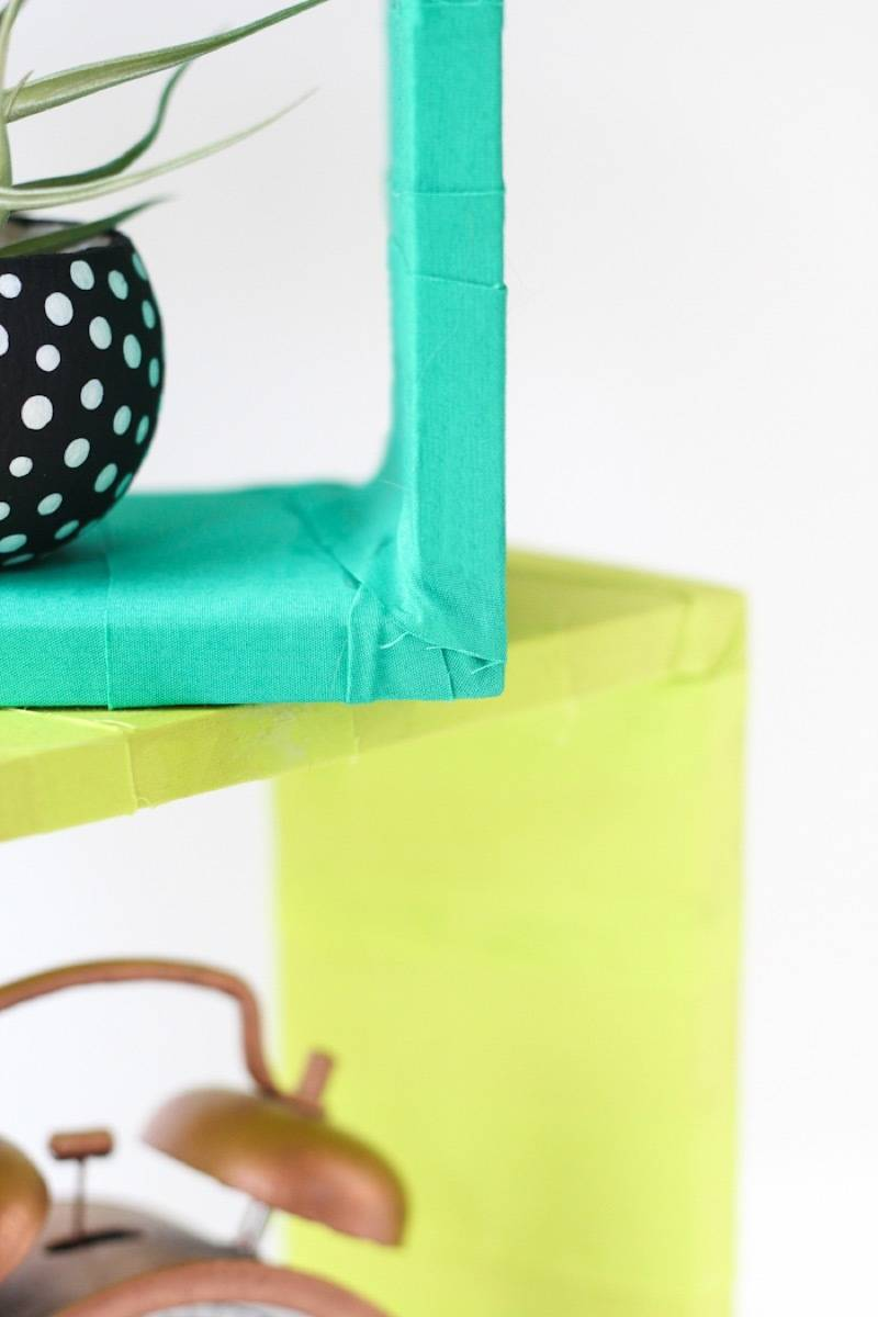 99 ways to use fabric to decorate your home   Fabric-wrapped boxes