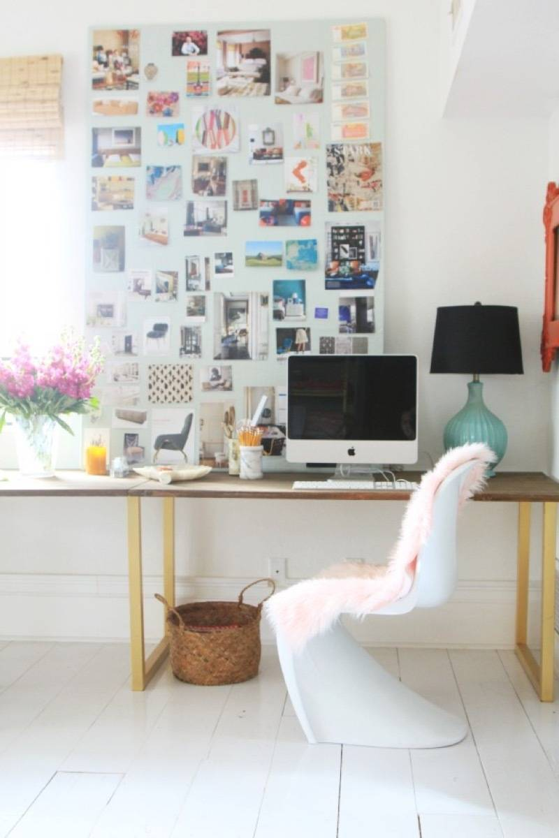 99 ways to use fabric to decorate your home   Dyed fur throw