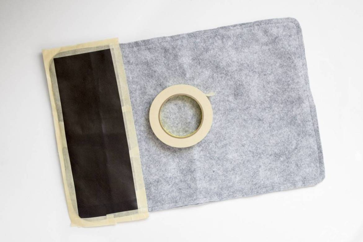 DIY Felt Placemats | Step 4