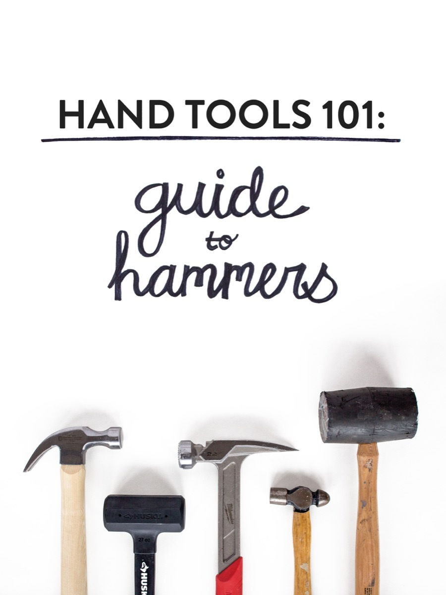 Tools 101: A Beginner's Guide to Hammers