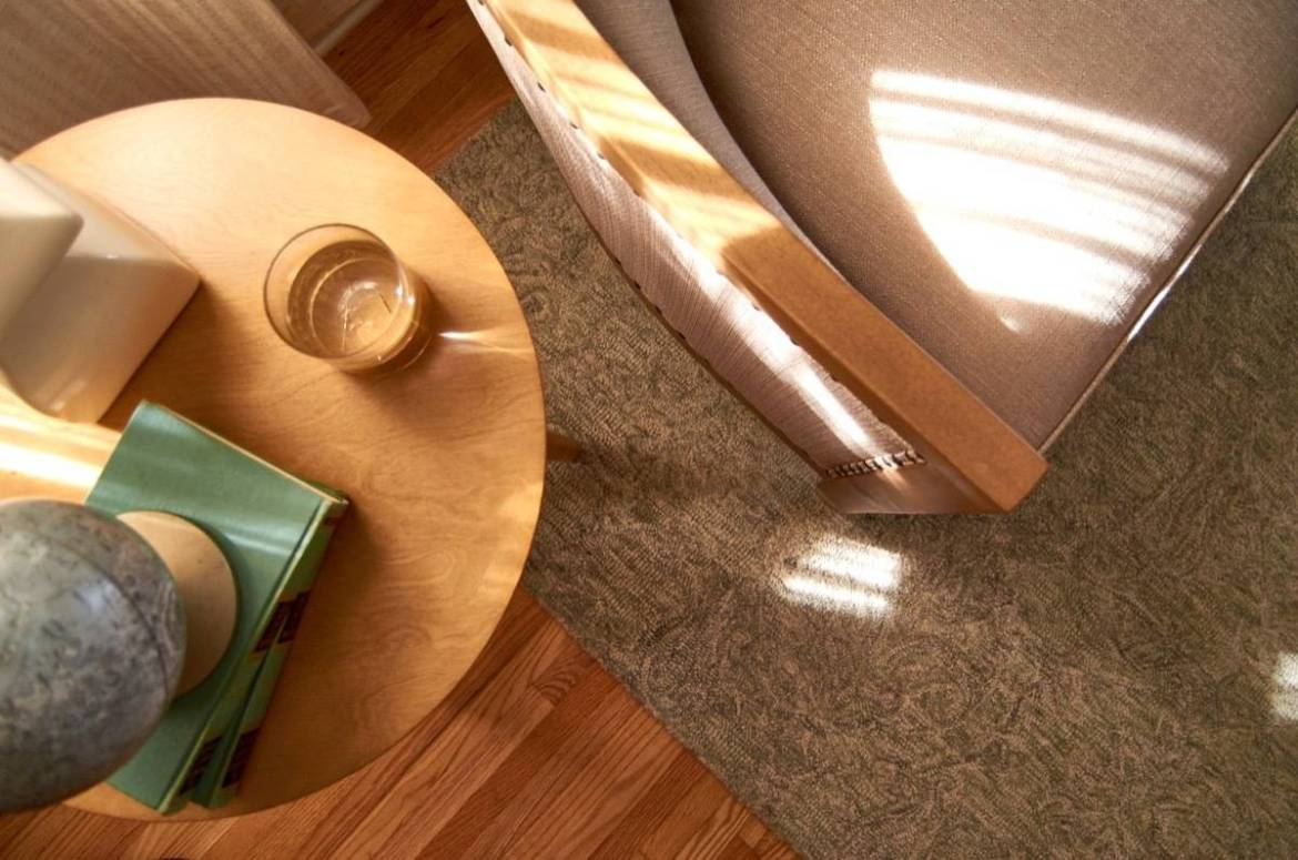 Side table detail