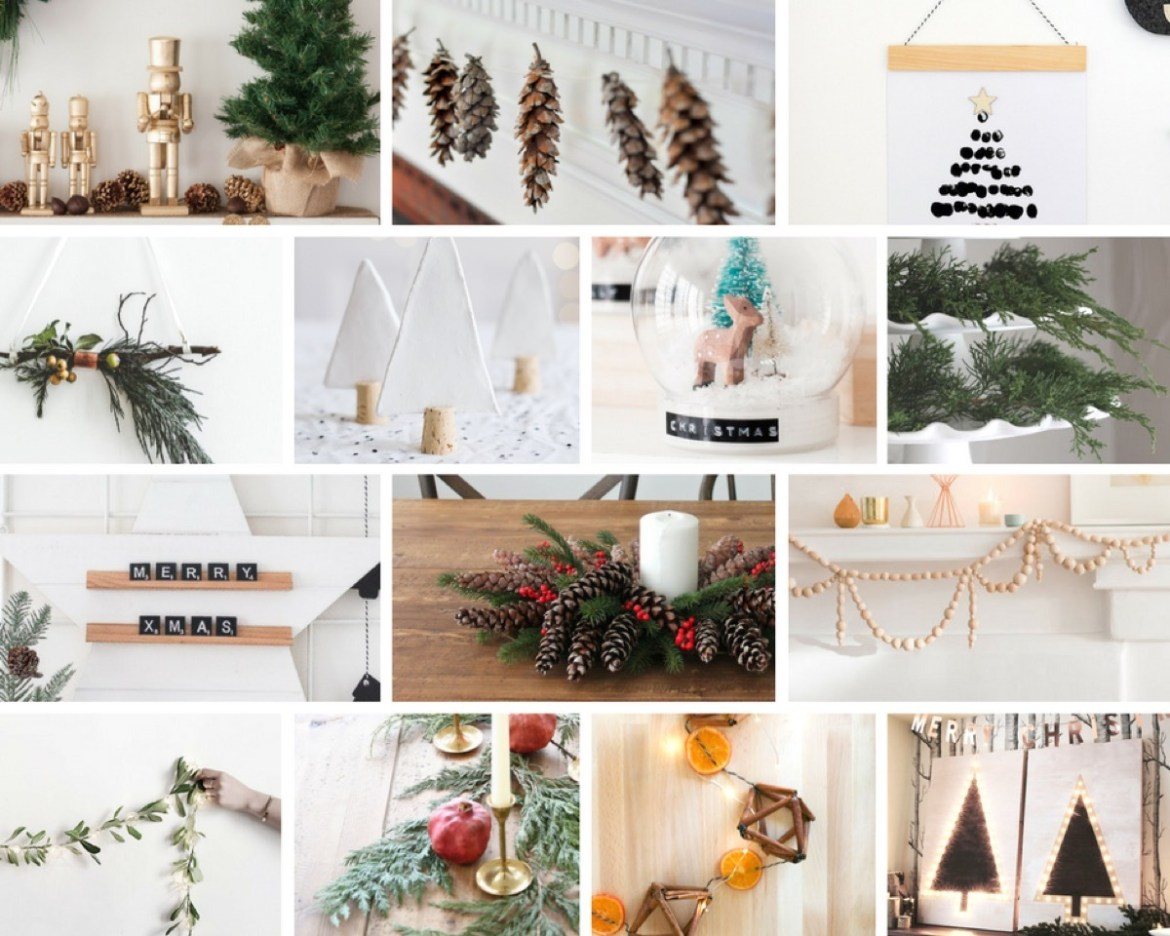 A mega roundup of do-it-yourself holiday projects that are actually cute