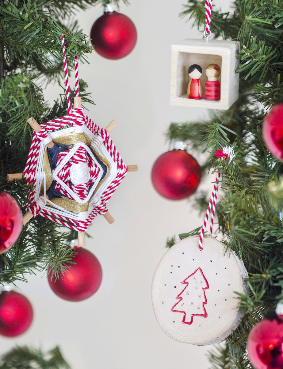 Three ornaments you can make with the Dremel Combo Kit