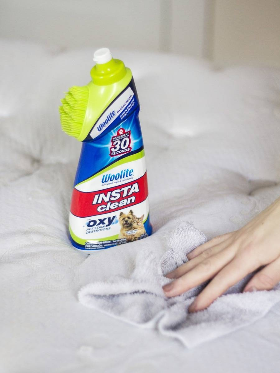 How to Clean your Mattress: Use an enzyme-based cleanser