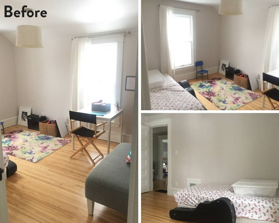 From Catch-All Room to Cozy Den: Room Makeover