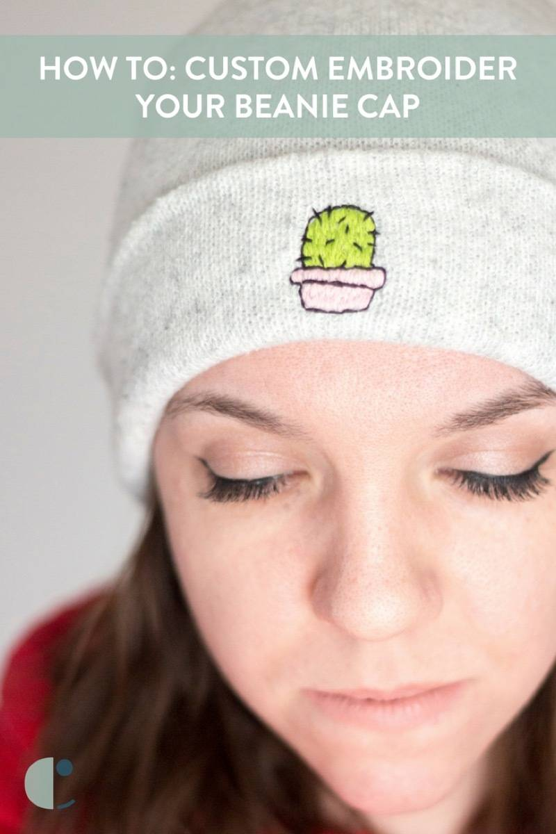 Don't be a prick! Learn how to stitch fun designs into your cap.