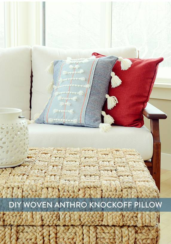 Knockoff throw pillow