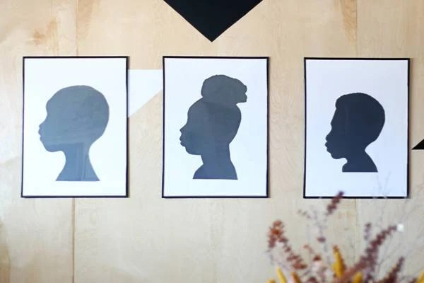 Family Silhouette Art in Under an Hour