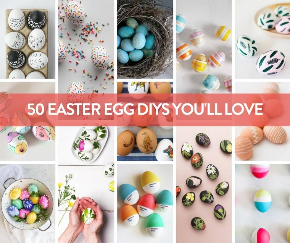 50 Easter Egg Ideas
