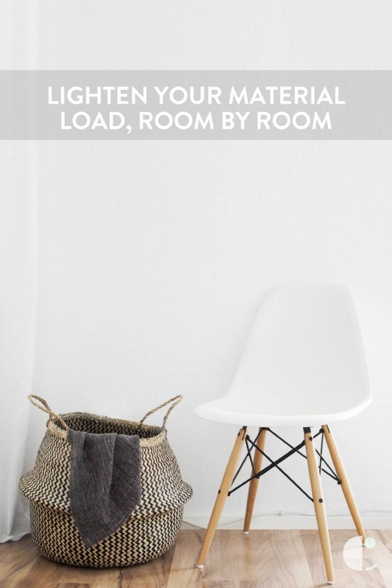 100 Things to Throw Away, Room by Room