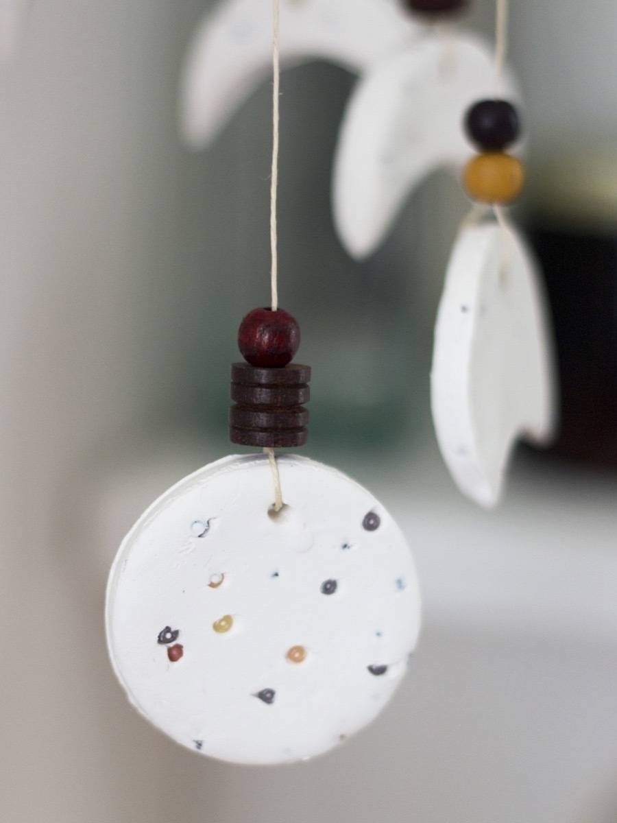 DIY Moon Phase Wind Chime