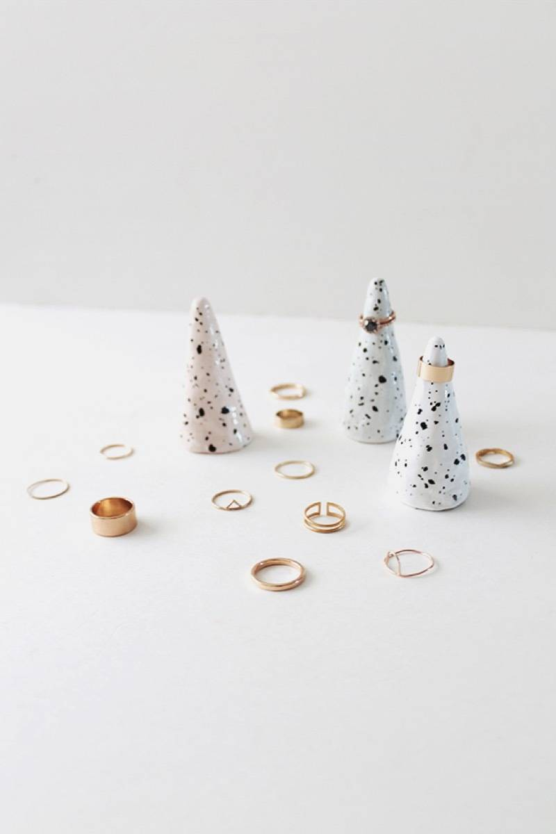 DIY Mother's Day Gift Ideas: Cone ring holder