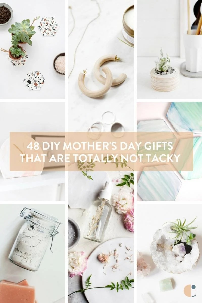 48 DIY Mother's Day gift ideas that are totally not tacky, and look store-bought!