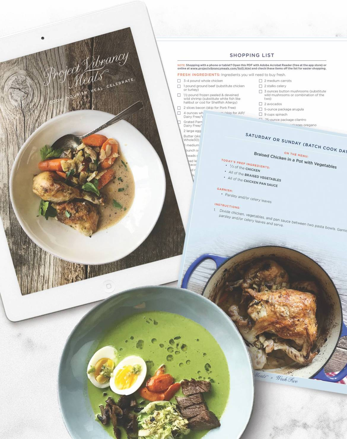 Meal planning & batch cooking can simplify mealtimes