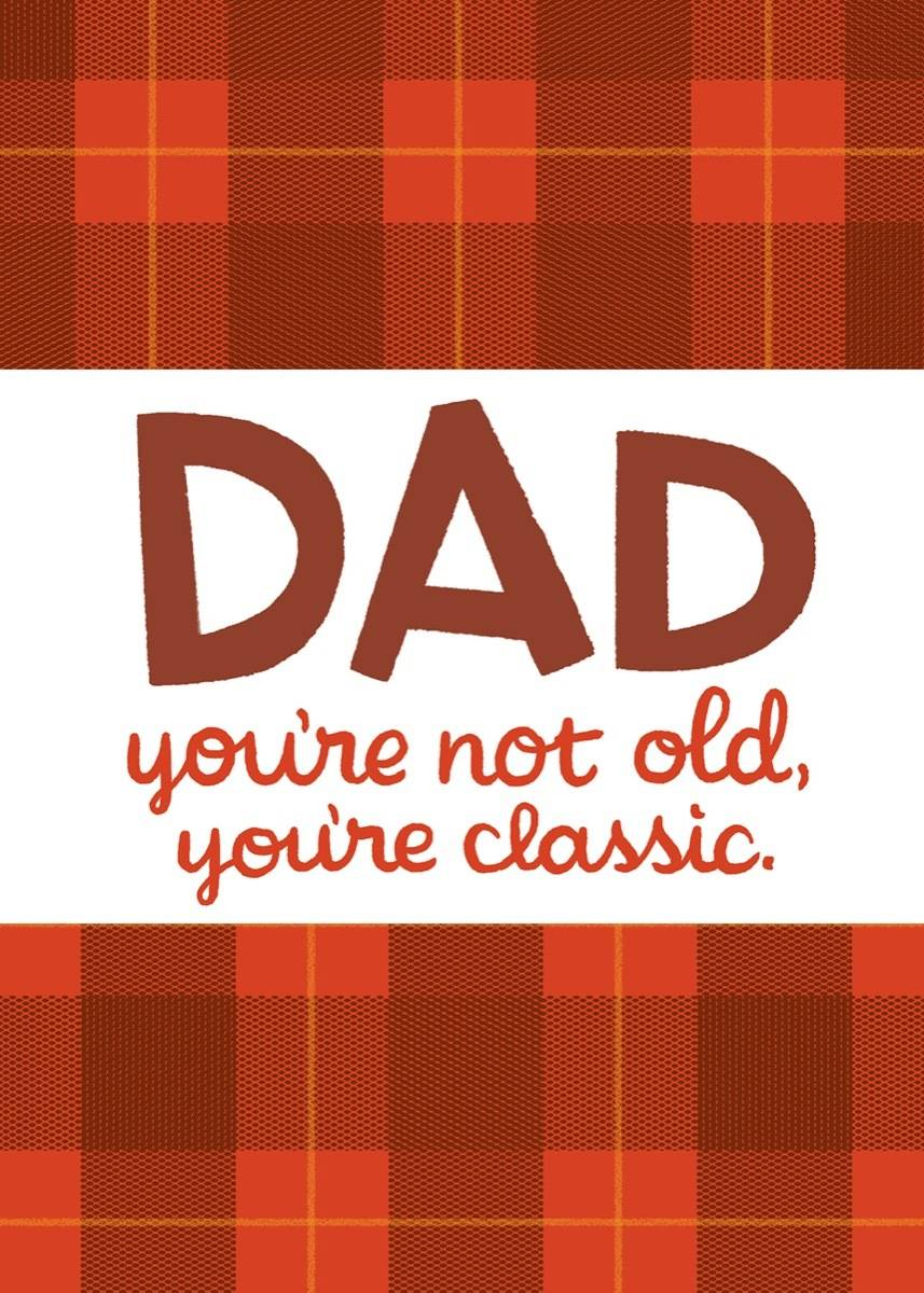 Classic Dad card by Joel Selby
