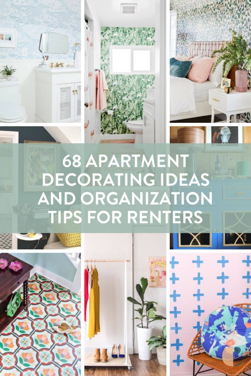68 Apartment Decorating and Organizational Tips for Renters