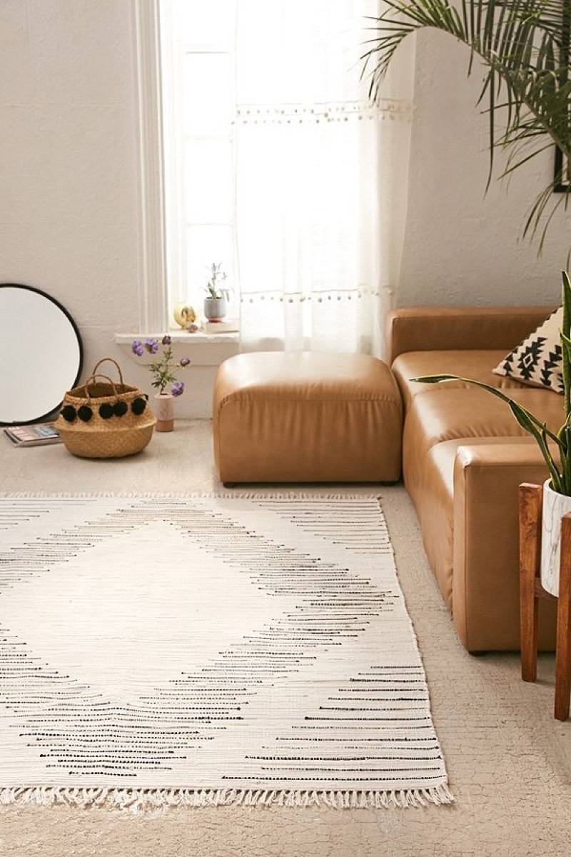Wyatt woven rug from Urban Outfitters