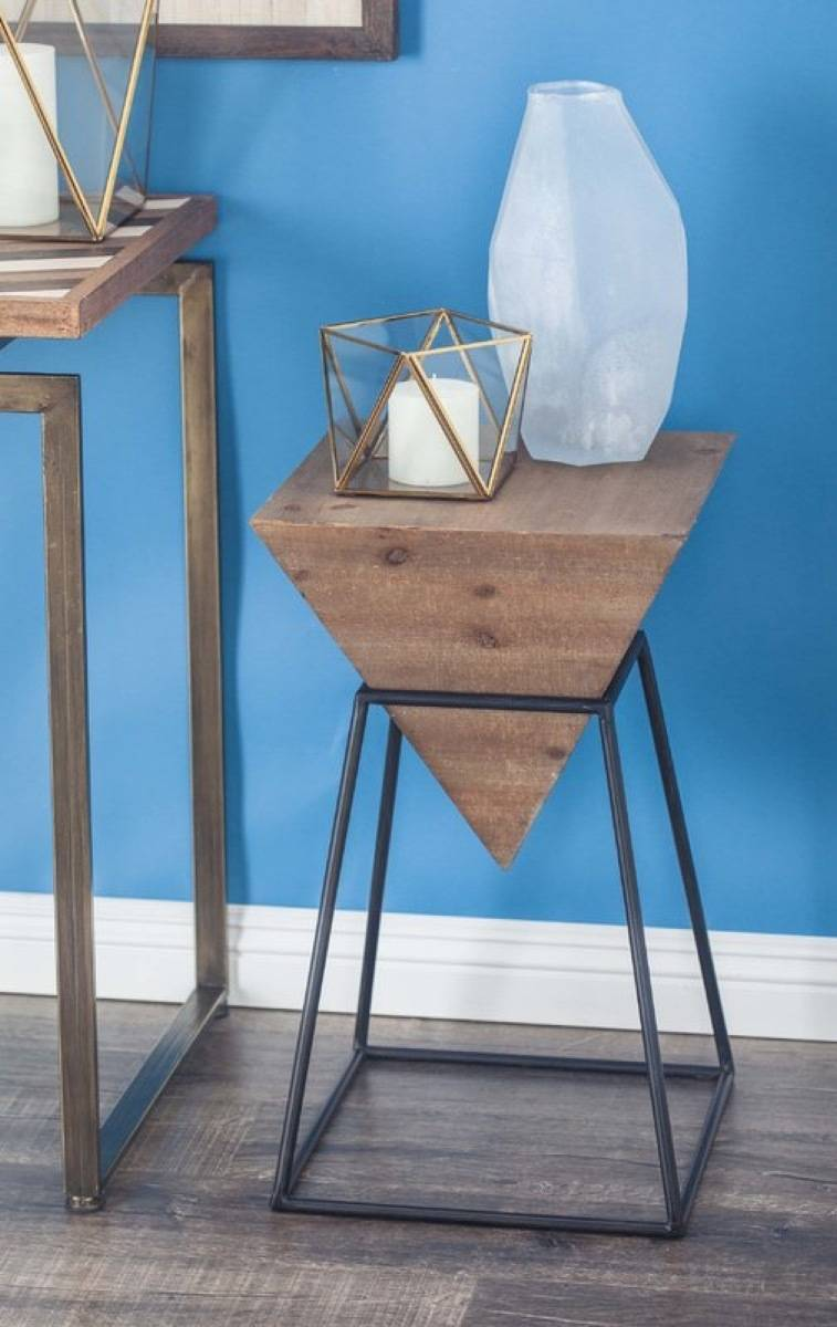 100 affordable furniture pieces and home decor items for under $100 - Pyramid end table from All Modern