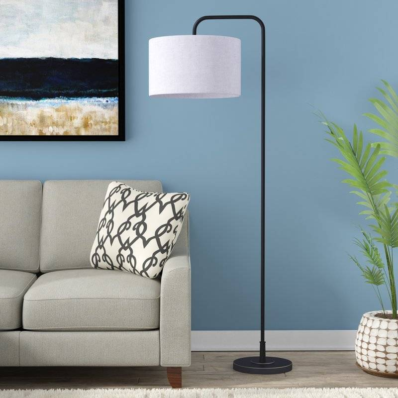Starns arched floor lamp from All Modern