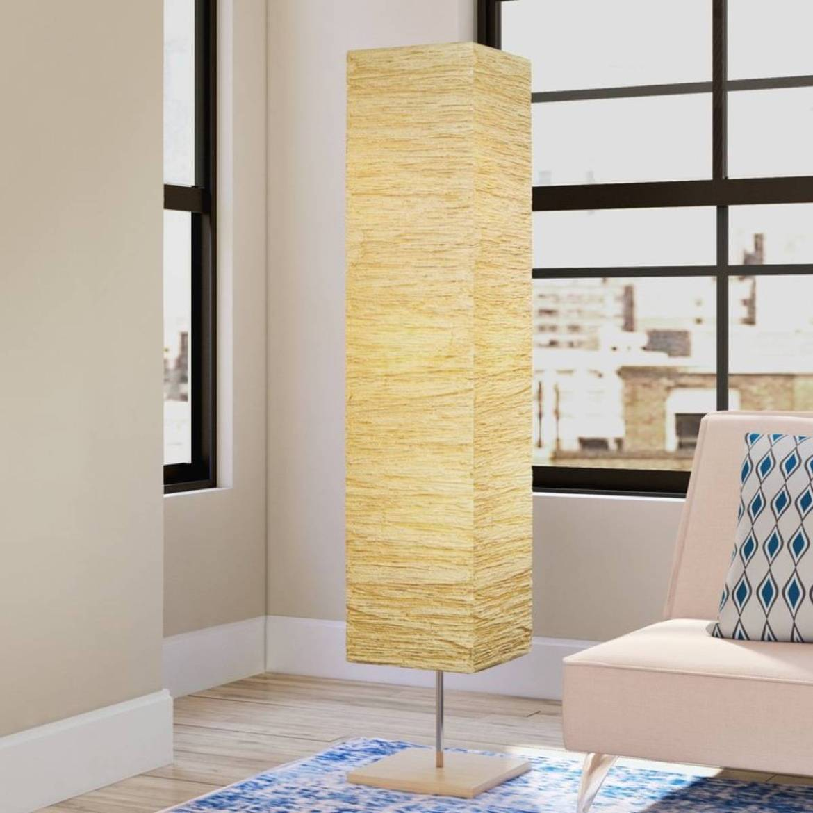 Toombs column floor lamp from All Modern