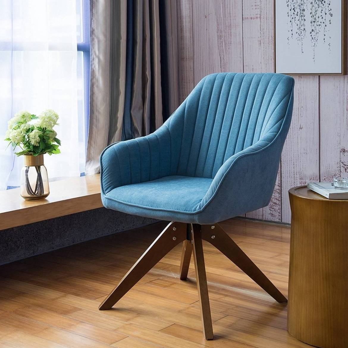 Accent club chair with arms - Amazon