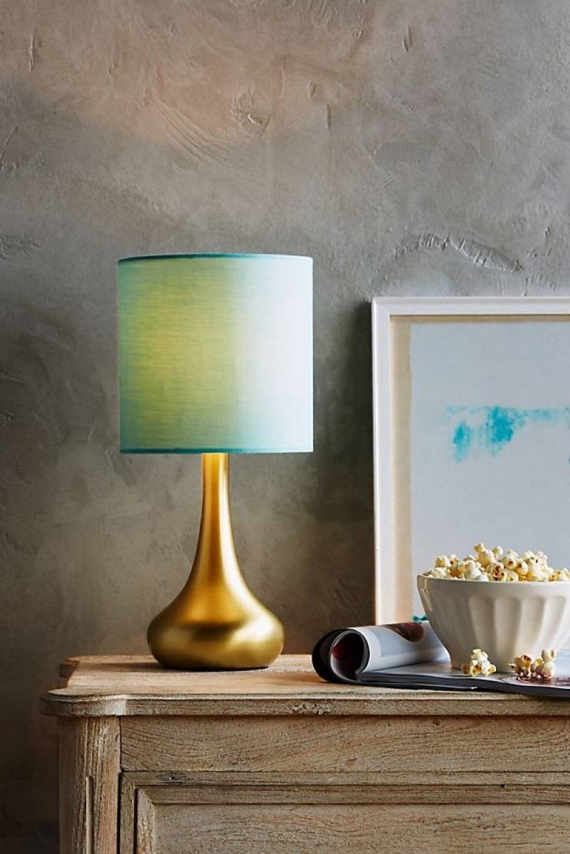 Fumi table lamp from Anthropologie