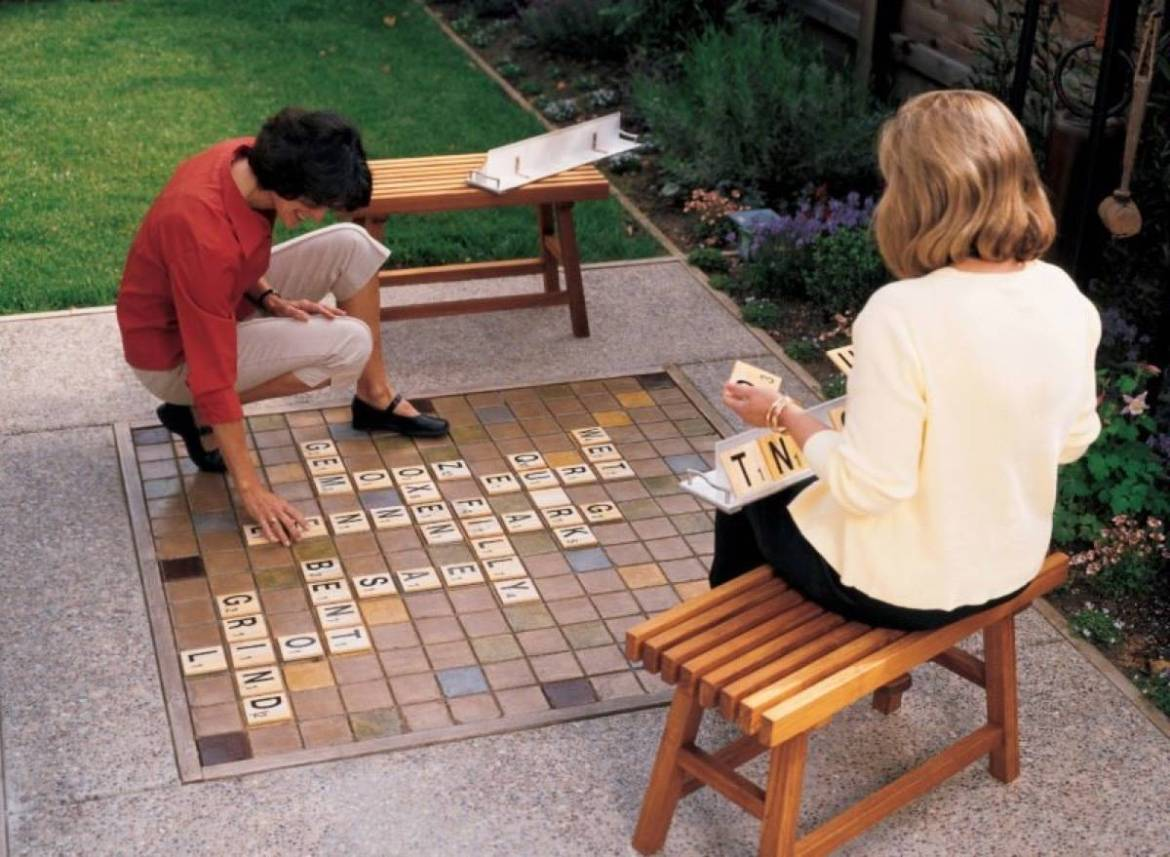 Over-sized Scrabble