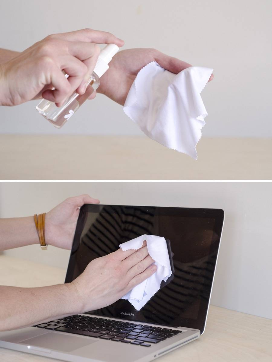 How to clean a laptop | Step 3