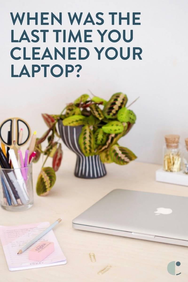 How to deep clean your laptop