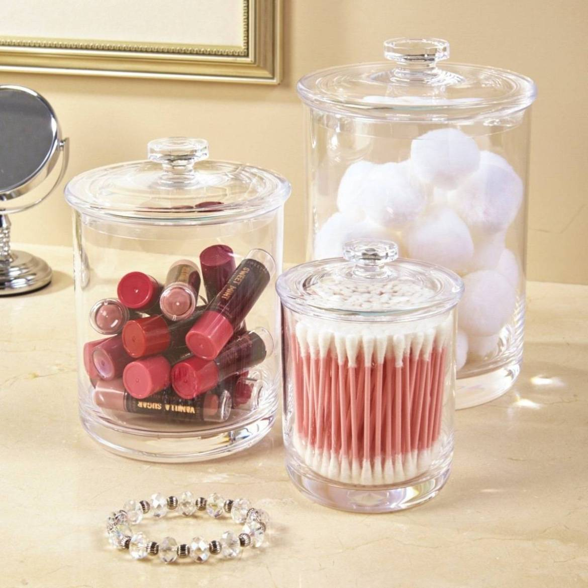 Apothecary jars | Home organization products