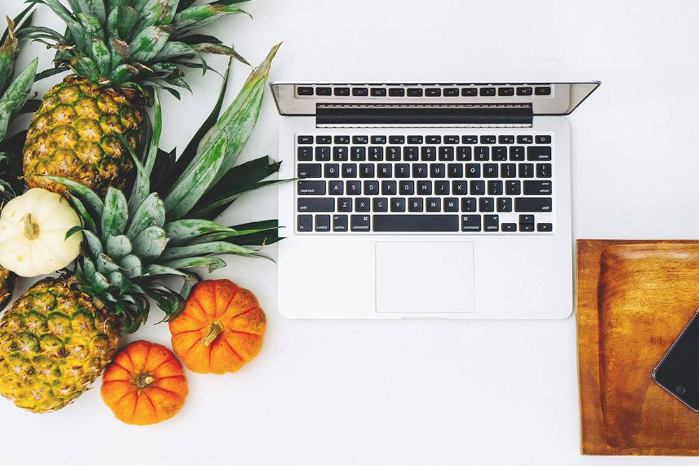 Fruit and computer