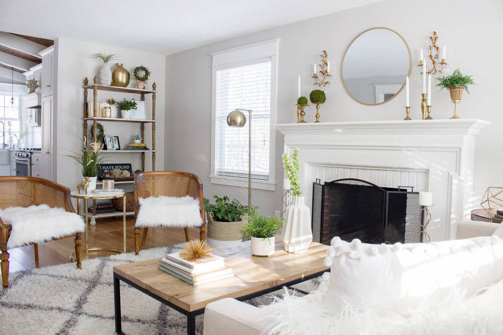 Fall Refresh: 10 Ways To Add Texture To Your Living Room #decor