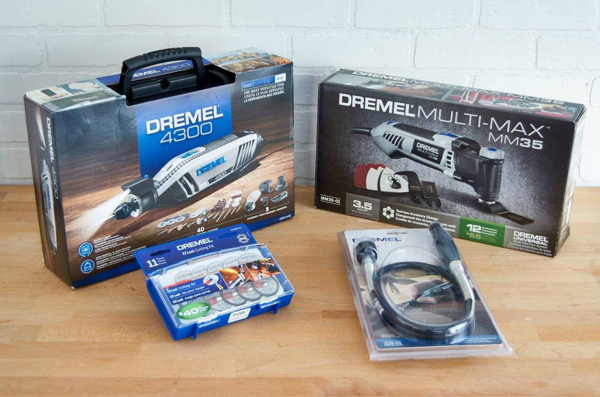 Dremel toosl prize package - rotary tool and oscillating tool