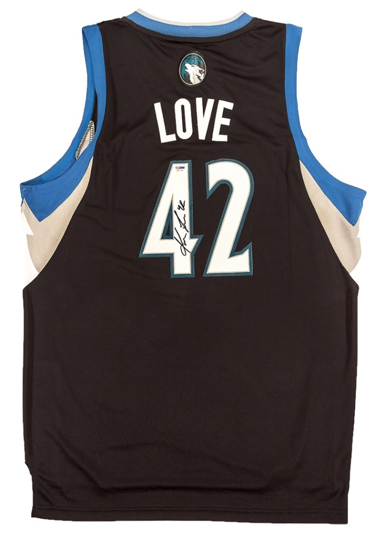 Kevin Love Autographed Minnesota Timberwolves Swingman ...