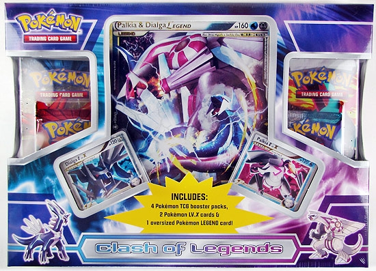 Pokemon Clash Of Legends Dialga Amp Palkia Box DA Card World