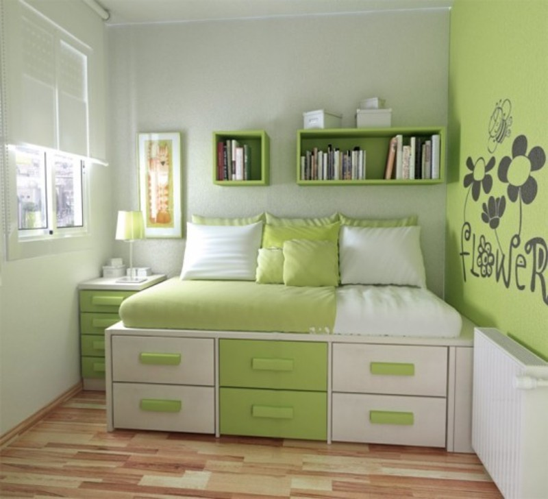 30 Modern Teenage Girls Bedroom Design Ideas / design ... on Teenage Small Bedroom Ideas  id=96894