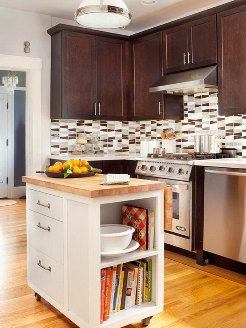 10 Best Kitchen Island Ideas For Your Small Kitchen ... on Best Small Kitchens  id=59129