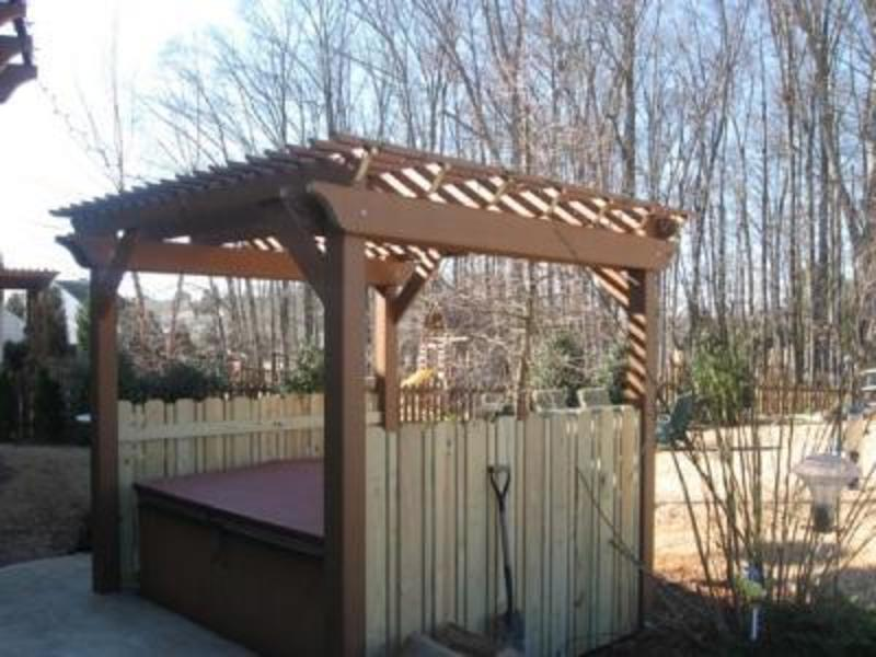 Timbertech Deck With Privacy Fence Design Bookmark 17314