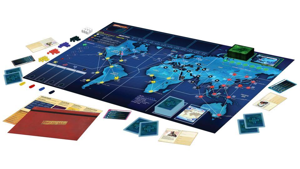 Présentation du gameplay du jeu de société Pandemic Legacy: Season One