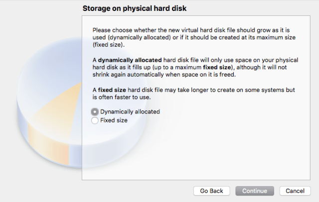 Hard Disk Options