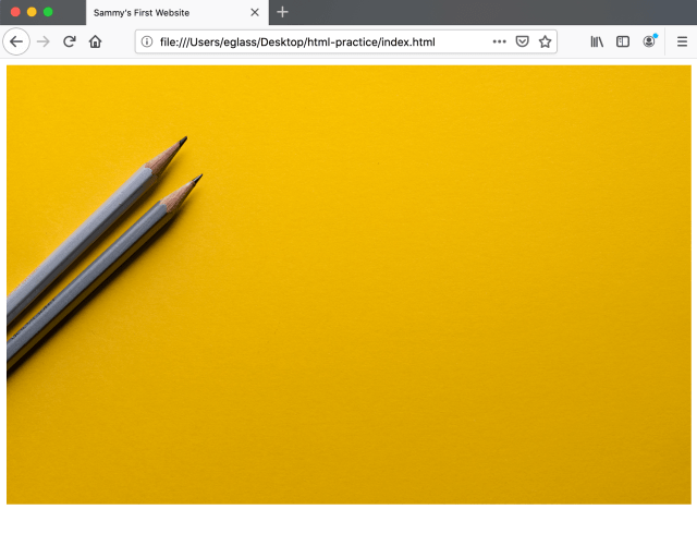 How To Add a Background Image to the Top Section of Your Webpage