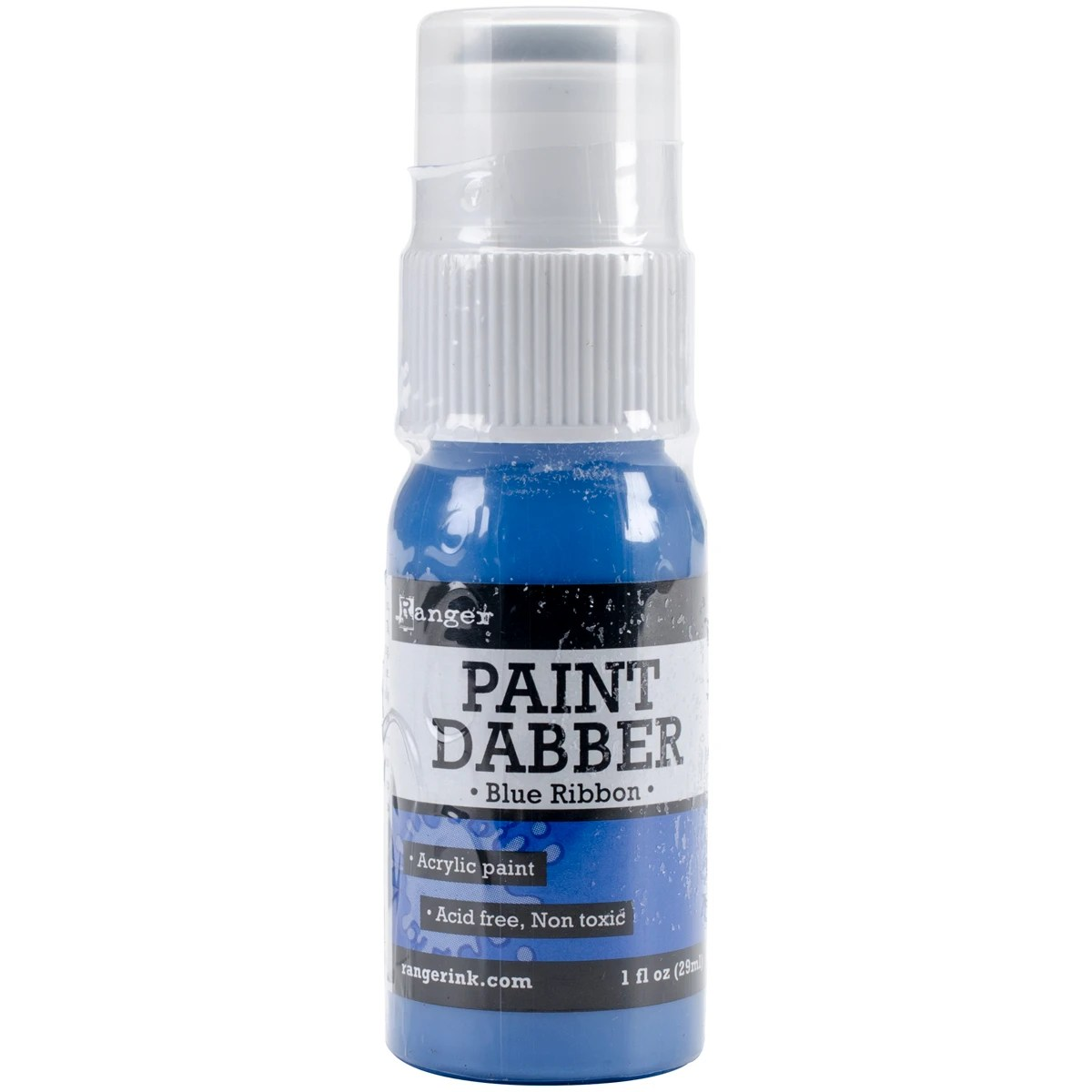 Ranger Paint Dabbers 1oz Blue Ribbon Contains Pack Of 3