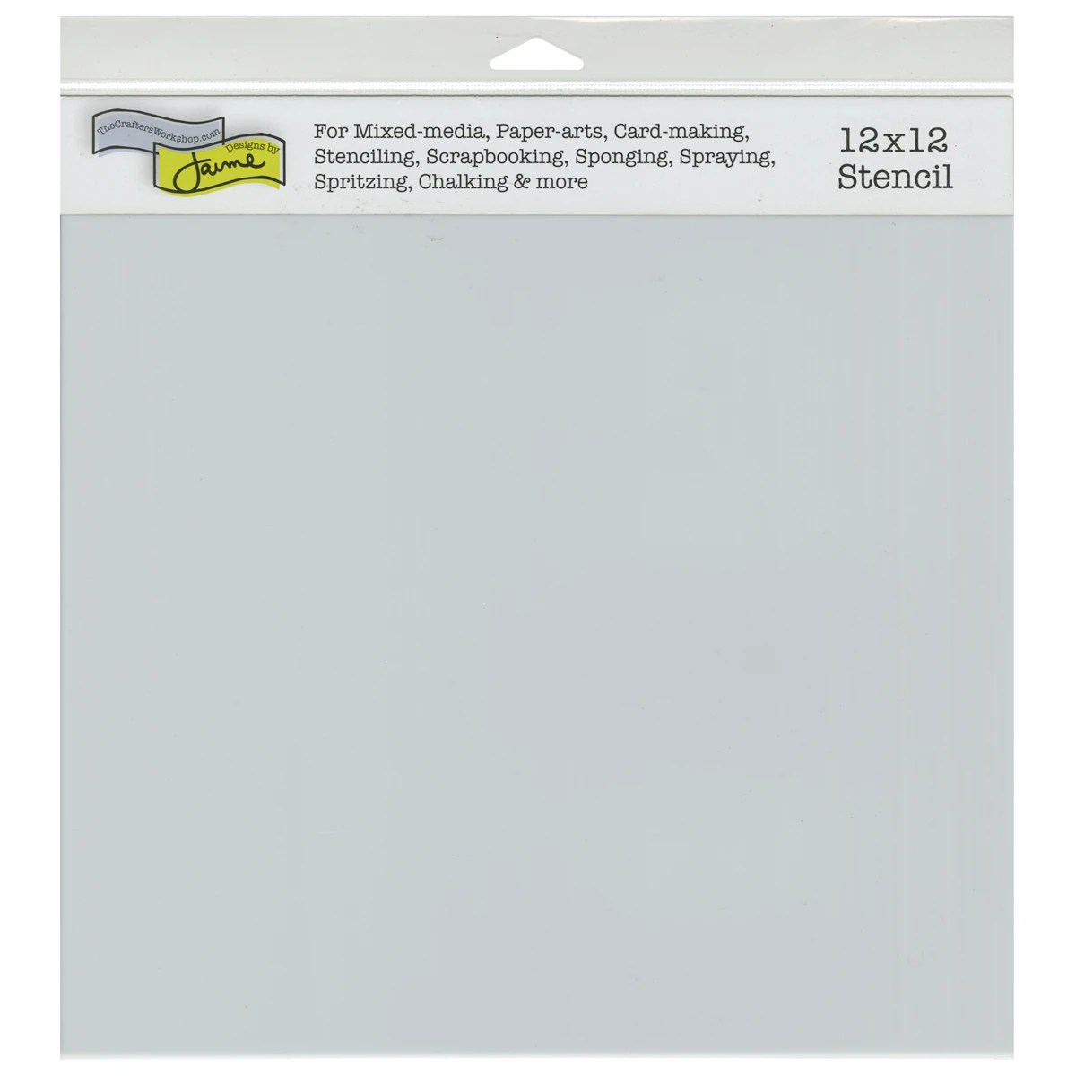 Crafter S Workshop Template 12 X12 Stencil Sheets Contains Pack Of
