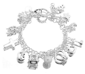 Sterling Silver Plated Women B...