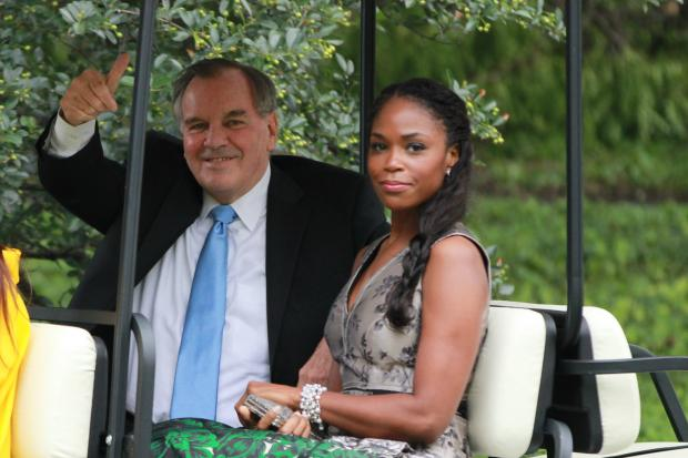 Is mayor daley dating a black woman