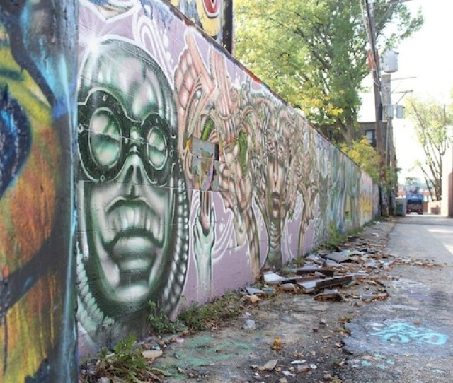 Hyde Park Graffiti Wall